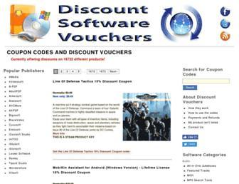 discountsoftwarevouchers.com screenshot