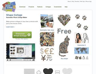 shapecollage.com screenshot