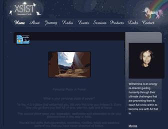 Main page screenshot of xsist.org