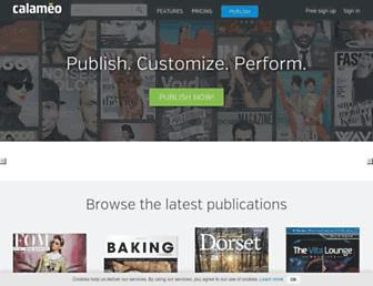 Thumbshot of Calameo.com