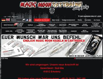 magic-moon-shop.com screenshot