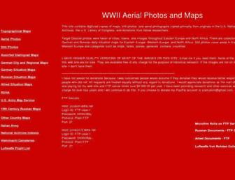 wwii-photos-maps.com screenshot