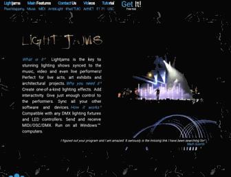 lightjams.com screenshot