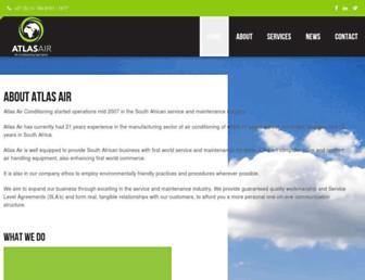 atlasair.co.za screenshot