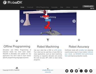 robodk.com screenshot