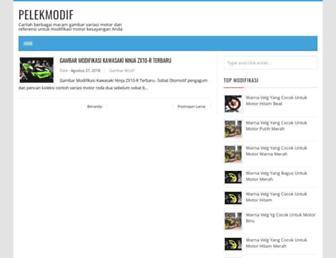 pelekmodif.blogspot.com screenshot