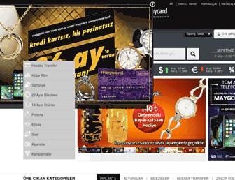 maygold.com.tr screenshot