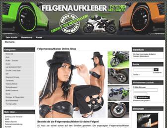 Thumbshot of Felgenaufkleber.net