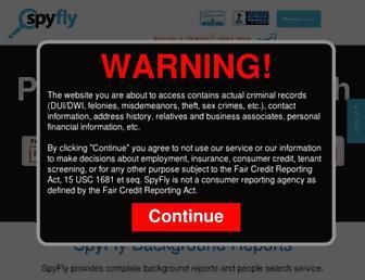 Thumbshot of Spyfly.com