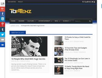 toptenz.net screenshot
