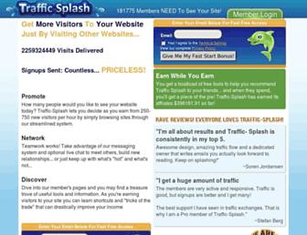 Thumbshot of Traffic-splash.com