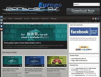 blackpantheros.eu screenshot