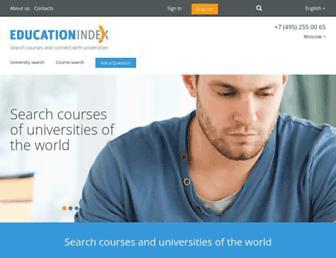 educationindex.co.uk screenshot