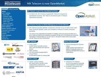 Thumbshot of Mxtelecom.com
