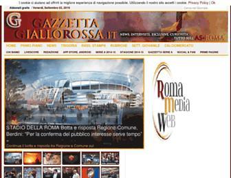 Thumbshot of Gazzettagiallorossa.it