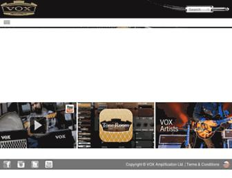 voxamps.com screenshot