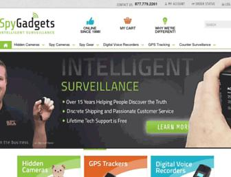 spygadgets.com screenshot