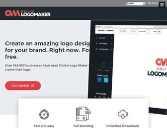 Thumbshot of Onlinelogomaker.com