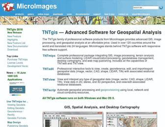 microimages.com screenshot