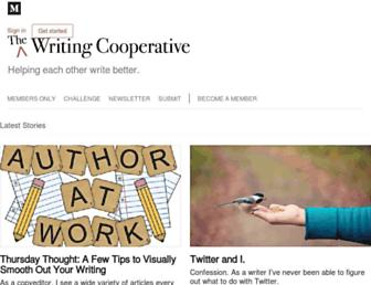 writingcooperative.com screenshot