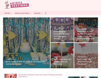 aminhafestinha.com screenshot