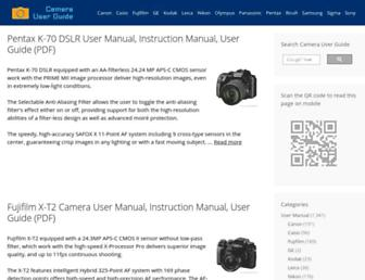 camerauserguide.net screenshot