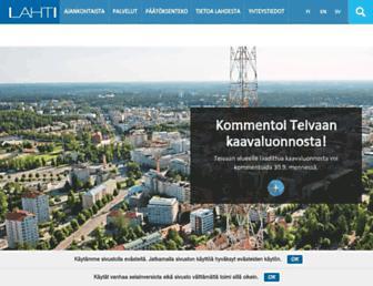 Thumbshot of Lahti.fi