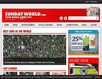 Thumbshot of Sundayworld.com