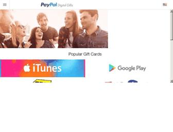 Thumbshot of Paypal-gifts.com