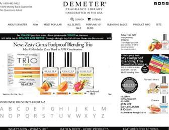 Thumbshot of Demeterfragrance.com
