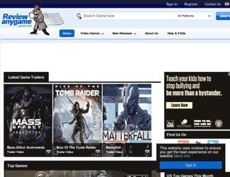 Thumbshot of Reviewanygame.com
