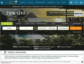 Thumbshot of Easyvoyage.co.uk
