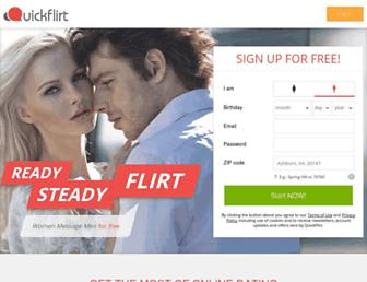 Thumbshot of Quickflirt.com