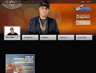 djlobo.com screenshot