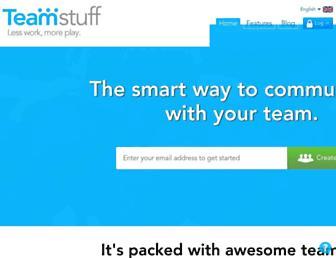 teamstuff.com screenshot