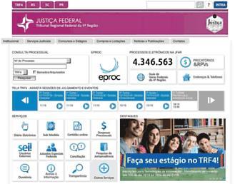 www2.trf4.jus.br screenshot