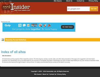 rankinsider.com screenshot