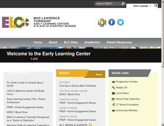 elc.ltschools.org screenshot