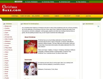 Thumbshot of Christmasbuzz.com