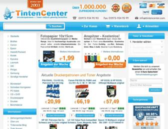 tintencenter.com screenshot