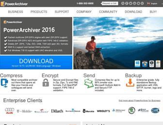 Thumbshot of Powerarchiver.com
