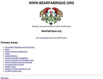 bearfabrique.org screenshot