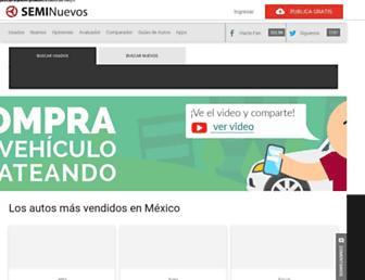 seminuevos.com screenshot