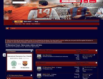 Thumbshot of Barcaforum.com