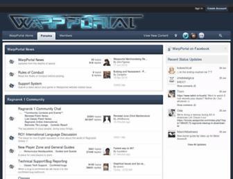 forums.warpportal.com screenshot