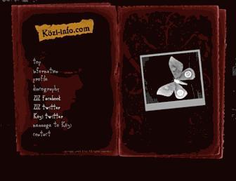 kozi-info.com screenshot
