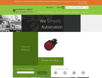 wolfautomation.com screenshot