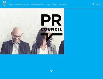 prcouncil.net screenshot