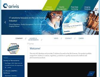 arivis.com screenshot