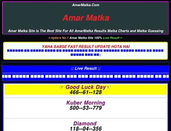 amarmatka.com screenshot
